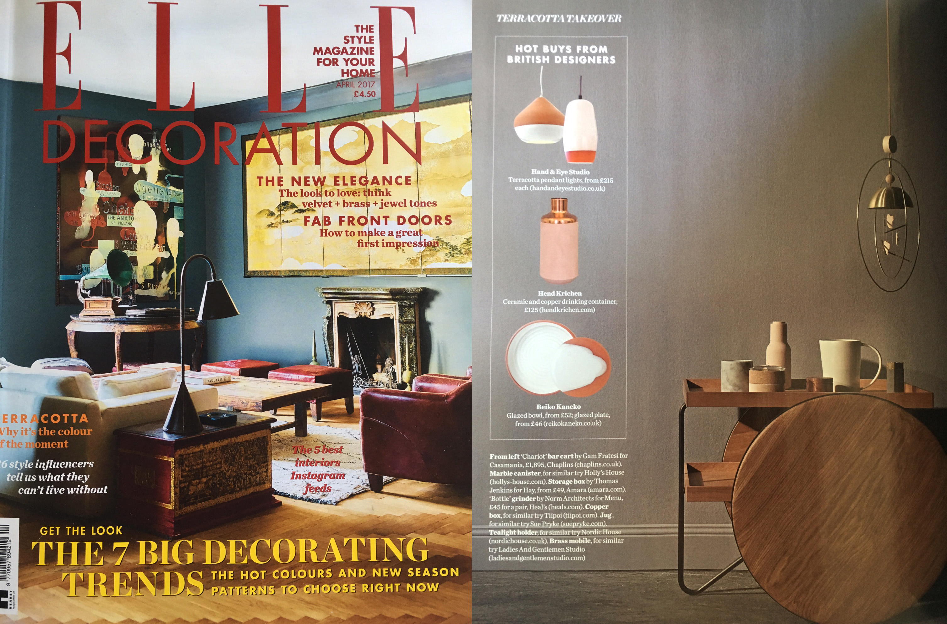 ELLE Decoration-April 2017