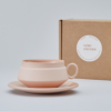 Pink Cup and Saucer 3