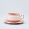 Pink Cup and saucer 2