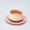 Pink Cup and saucer 5