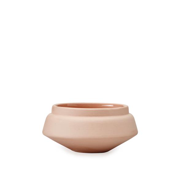Pink Condiment Pot