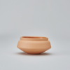 Orange Condiment Pot.