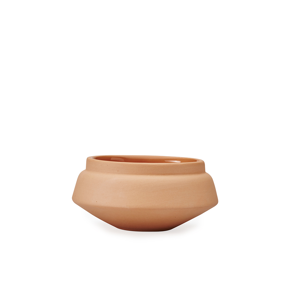Orange Condiment pot