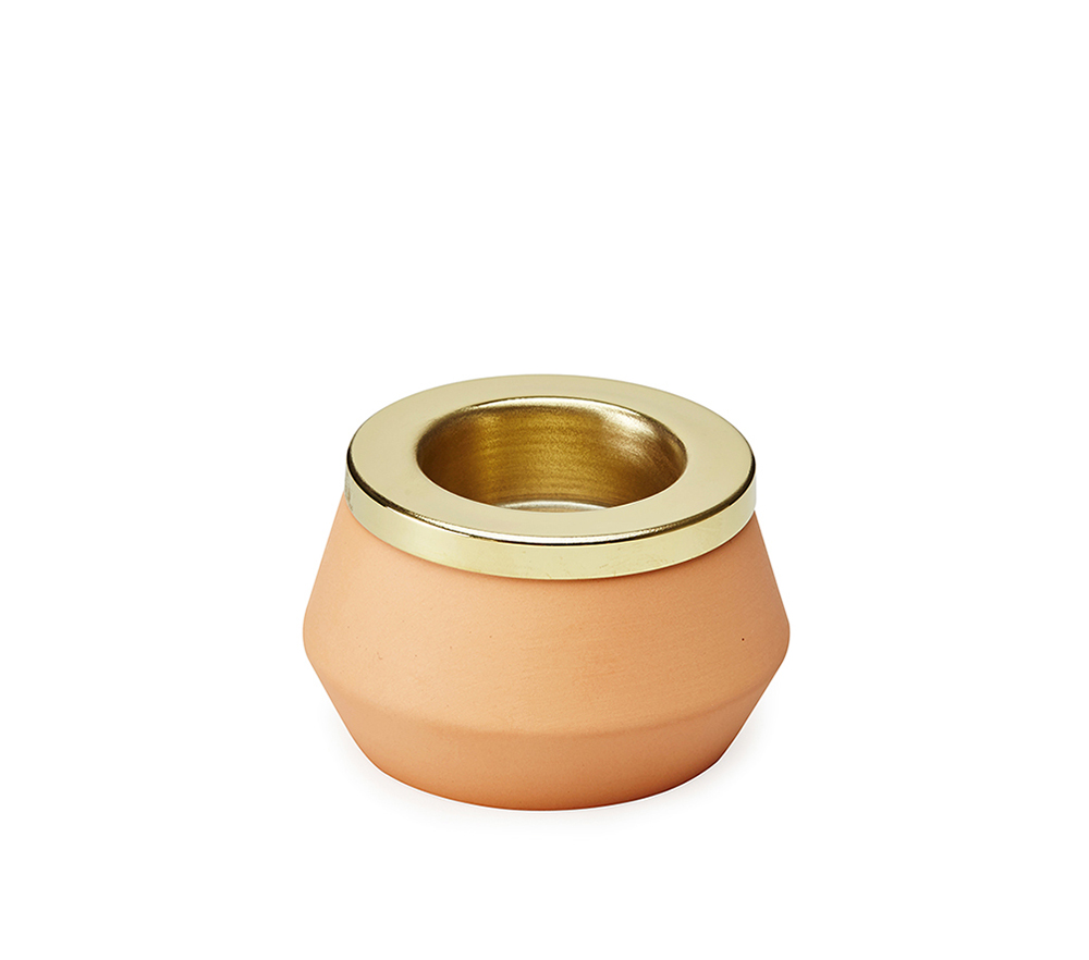 Orange Medium Tealight-3