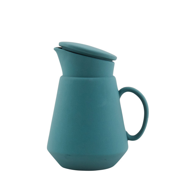 Hend Krichen- Green Coffee Jug-£60