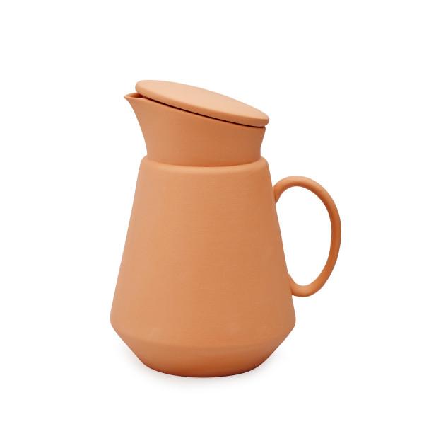 Orange Coffee Jug