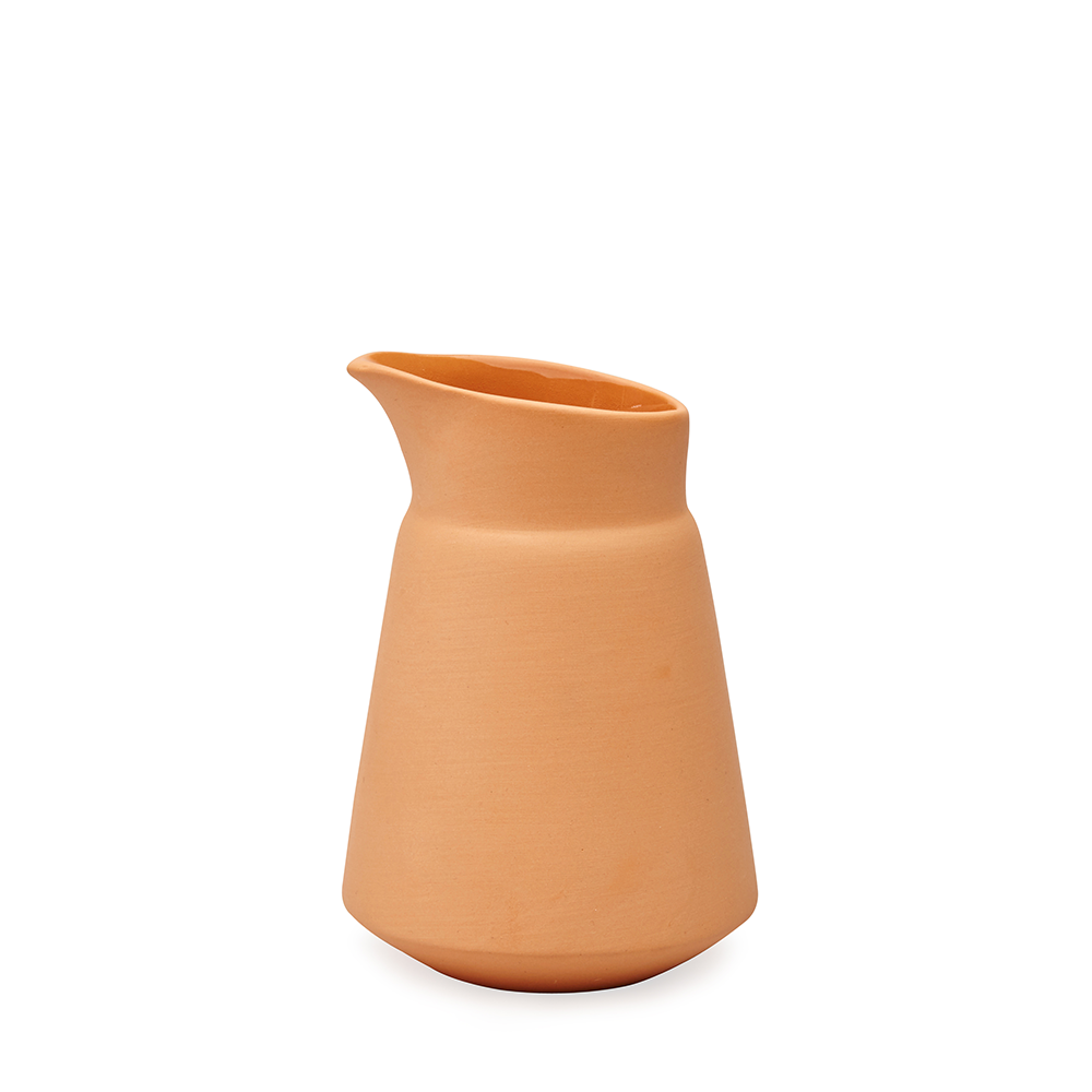 Orange Milk Jug